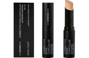 Korres Corrective Concealer Activated Charcoal SPF30 ACS3 3.5gr