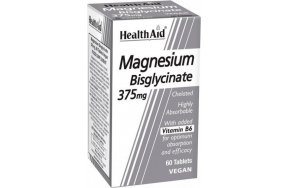 Health Aid Magnesium Bisglycinate 375mg 60 ταμπλέτες