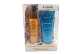 Lierac Promo Sunissime Lait Protecteur Energisant Anti-Age Global SPF50 100 ml & Lait Réparateur Anti-âge Global 100 ml