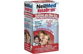 Getremed Nasadrops Saline on the Go 15amps x 15ml