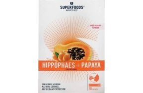 SUPERFOODS ΙΠΠΟΦΑΕΣ + PAPAYA 20 SACHETS