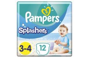 PAMPERS SPLASHERS ΜΕΓ 3-4 8Χ12 CP