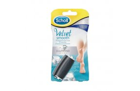 Scholl Velvet Smooth Diamond Extra Coarse  Soft Touch 2 Ανταλλακτικά