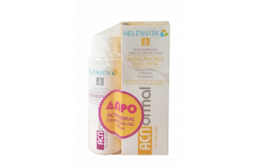 HELENVITA ACNORMAL REBALANCING EMULSION 60 MLPR(+ACNORMAL CLEANSING GEL 100ML)