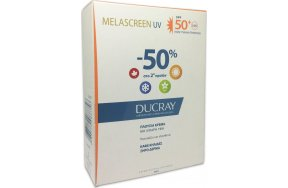 Ducray Melascreen UV Rich Cream Dry Touch Brown Spots Dry Skin SPF50+ 2x40ml