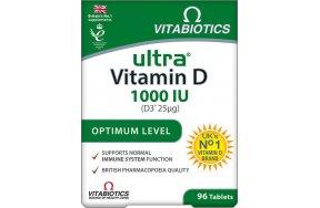 Vitabiotics Ultra D-3 96 ταμπλέτες