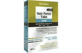 Frezyderm Hair Force Tabs Oral 60 ταμπλέτες