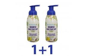 HELENVITA NOURISH HAND FOAM SOAP 400ML PR(1+1 ΔΩΡΟ)