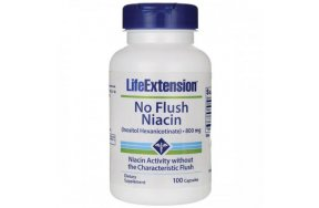 LIFE EXT. NIACIN NO FLUSH 800MG 100CAPS