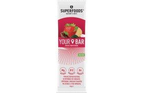 Superfoods Your Bar με Γεύση Φράουλα 45gr