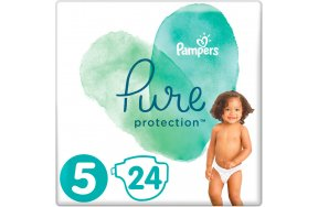 Pampers Pure Protection No 5 (11+kg) 24τμχ
