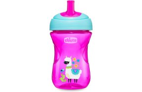 Chicco Advanced Cup Easy Drinking 12m+ PInk Lama 266ml