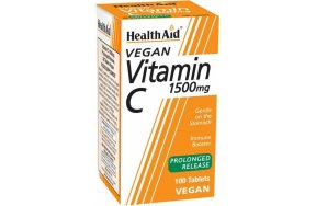 Health Aid Vitamin C Prolonged Release 1500mg 100 ταμπλέτες