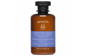 Apivita Holistic Hair Care Sensitive Scalp Shampoo with Lavender & Honey 250ml
