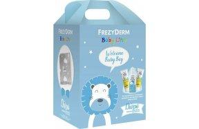 Frezyderm Welcome Baby Boy Set: Baby Shampoo 300ml, Baby Cream 2x175ml & Κουβέρτα Αγκαλιάς