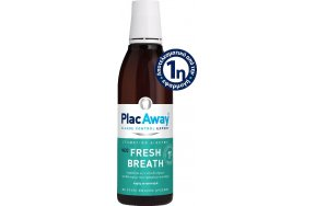 PlacAway Fresh Breath Στοματικό Διάλυμα για την Αντιμετώπιση της Κακοσμίας 250ml