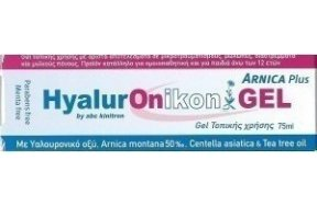 Abc Kinitron Hyaluronikon Gel Arnica Plus & Tea Tree Oil 75ml