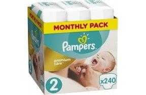 Pampers Premium Care No 2 (4-8kg) 240 τμχ