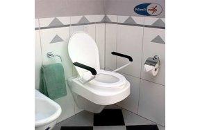 Medinext Ανυψωτικό WC Relax με Καπάκι & Μπράτσα Ύψους 10εκ.