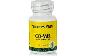 Nature's Plus Co-Mel 60 παστίλιες