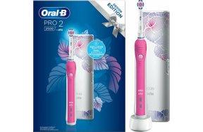 Oral-B Pro 2 2500 Design Edition Pink & Travel Case