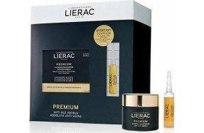 Lierac Premium Voluptueuse Anti Age Absolu 50ml & Cica-Filler Anti-wrinkle Repairing Serum 10ml
