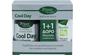 Power Health Cool Day 30 ταμπλέτες + Μαγνήσιο Mg 10 αναβράζοντα δισκία