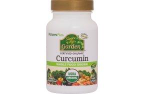 Nature's Plus Source Life Garden Curcumin 400mg 30 κάψουλες