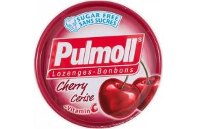 Pulmoll Vitamin C Κεράσι Καραμέλες κατά του Κρυολογήματος 45gr