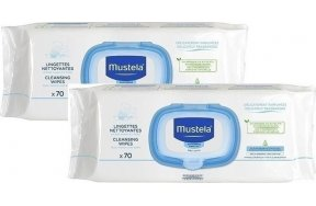 MUSTELA 70 DERMO SOOTHING WIPES PR(-50% ON SECOND)