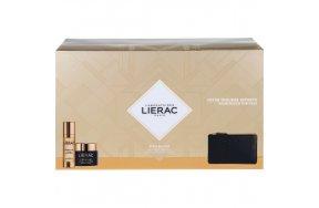 Lierac La Cure Absolute Anti-Aging Cream 30ml, Voluptueuse Creme 50ml & Rue Des Fleurs-Monaco Pouch