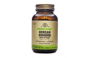 SOLGAR KOREAN GINSENG ROOT EXTRACT SFP 60CAPS