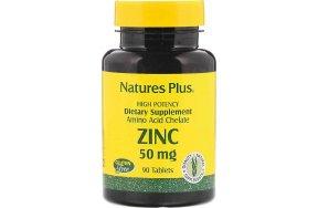 Nature's Plus Zinc 50mg 90 ταμπλέτες