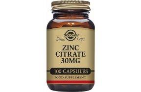 Solgar Zinc Citrate 30mg 100 κάψουλες