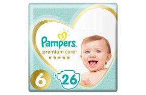 Pampers Premium Care Πάνες Μέγεθος 6 (13kg+) - 26 Πάνες