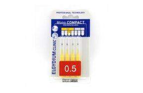 Elgydium Mono Compact Yellow (0.5) 4τμχ