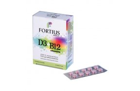 Geoplan Nutraceuticals Fortius D3 2500iu & B12 30 ταμπλέτες