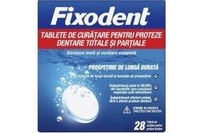 Fixodent Ταμπλέτες Καθαρισμού Για Ολικές & Μερικές Τεχνητές Οδοντοστοιχίες 28τμχ