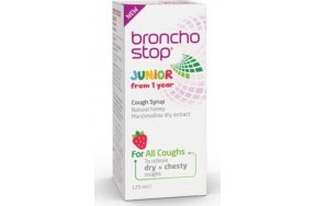 Omega Pharma Broncho Stop Junior Cough Syrup 200ml