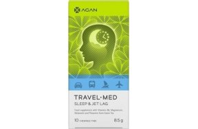 AGAN TRAVEL MED SLEEP + JET LAG 10 CHEWABLE TABS