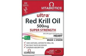 Vitabiotics Ultra Krill Oil 500mg 30 κάψουλες