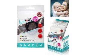 Ino Plus LiceDR Lice Preventing Hair Bands Μαύρο 4τμχ