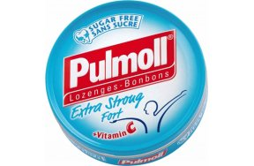 Pulmoll Extra Stront Fort Vitamin C Καραμέλες για το Βήχα & τον Ερεθισμένο Λαιμό 45gr