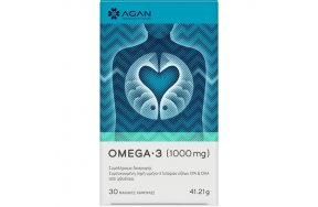 AGAN Omega-3 1000mg 30 Μαλακές Κάψουλες