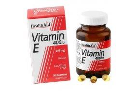 HealthAid Vitamin E 400iu 30caps
