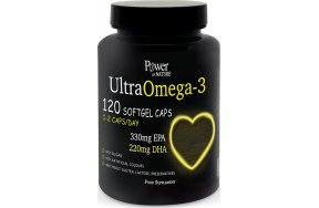 Power Health Power Of Nature Ultra Omega 3 120 μαλακές κάψουλες