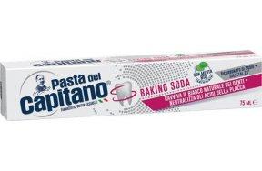 Pasta del capitano Baking soda 75ml Οδοντόκρεμα για τη λεύκανση των δοντιών