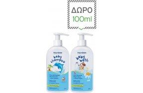 Frezyderm Baby Shampoo 300ml & Δώρο Baby Bath 100ml