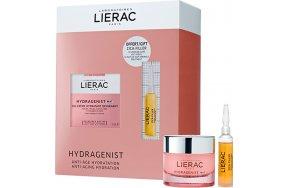 Lierac Hydragenist Gel-Cream 50ml & Cica-Filler Anti-Wrinkle Repairing Serum 10ml