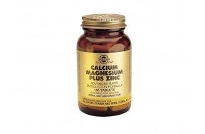 SOLGAR CALCIUM-MAGNESIUM-ZINC 100TABS